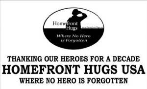 Homefront Hugs, Allesandra Kellerman, support to troops, military support, Military Mom Talk Radio, Sandra Beck, Tina Gonzales