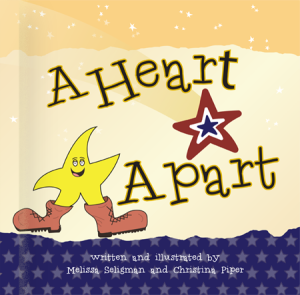 A Heart Apart, Melissa Seligman, Chris Piper, Her War Her Voice, Sandra Beck, Tina Gonzales, Robin Boyd, Military Mom Talk Radio, military children, books for military children, helping military families