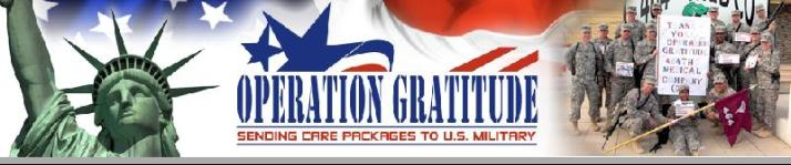 Operation Gratitude, Carolyn Blashek, care packages for the military, helping the military, sending things to soldiers, Sandra Beck, Tina Gonzales, Robin Boyd, Military Mom Talk Radio